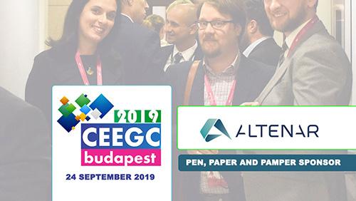 Altenar announced as sponsor at CEEGC 2019 Budapest
