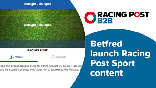Betfred launch Racing Post Sport content across their website
