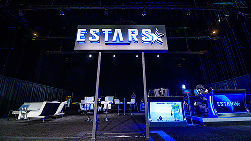 Estars and World Series of Poker (WSOP) bring Estars Lounge and competitive gaming to the prestigious tournament series