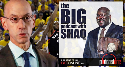 NBA forces Shaq to ditch BetOnline as podcast sponsor