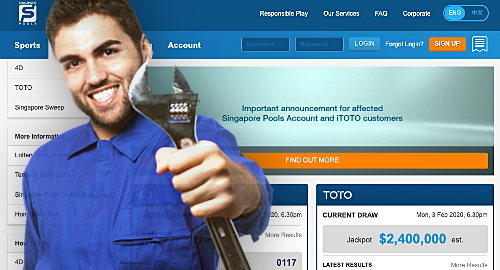 Singapore Pools admits finding more online gambling 'glitches'