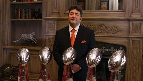 Former 49ers owner DeBartolo pardoned by Trump for gambling license bribe