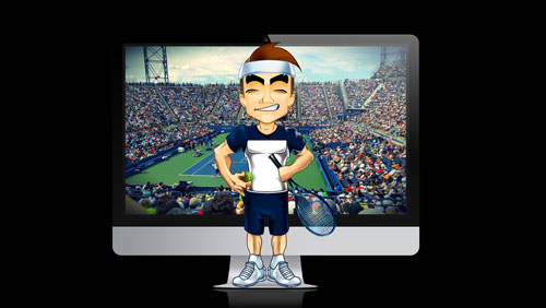 The ATP has a new virtual tennis product for sports gamblers